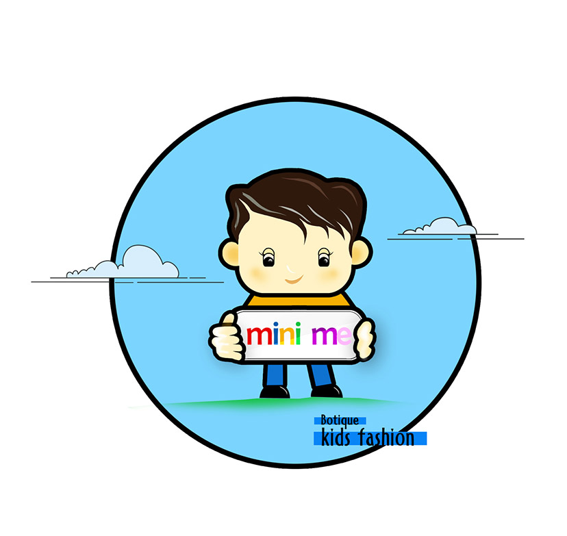 Mini Me Kids Fashion Brand Identity Yisweb Yes Its Simple